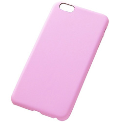 iPhone 6 Plus用 USLiM STYLISH LEATHER ペールピンク RT-USP8LC1/PP