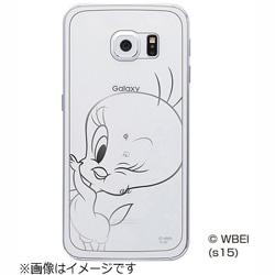 Galaxy S6 edge用 背面用デザインフィルム ワーナー・トゥイーティー RT-WSC04GF/TW