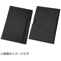 Surface Pro4用 マルチ・ブックレザーケース 合皮 ブラック RT-SPRO4LC10/B