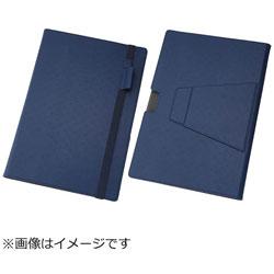 Surface Pro4用 マルチ・ブックレザーケース 合皮 ネイビー RT-SPRO4LC10/N