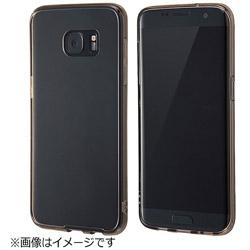 Galaxy S7 edge用 ハイブリッドケース ブラック RT-GS7ECC2/B