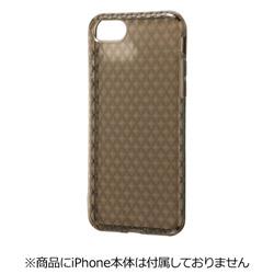iPhone 7用 TPUソフトケース キラキラ ブラック RT-P12C7/B