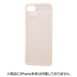 iPhone 7用 TPUソフトケース ウルトラクリア ラメ クリアゴールド RT-P12TC4/CG