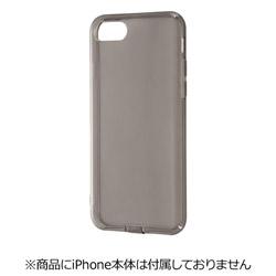iPhone 7用 TPUソフトケース コネクタキャップ付き ブラック RT-P12TC10/B