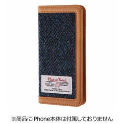 iPhone 7用 手帳型ケース ハリスツイード ブルーヘリンボーン RT-P12FBC4/HA