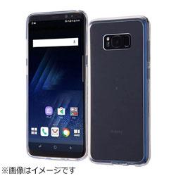Galaxy S8+用 ハイブリッドケース クリア RT-GS8PCC2/C