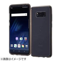 Galaxy S8+用 ハイブリッドケース ブラック RT-GS8PCC2/B