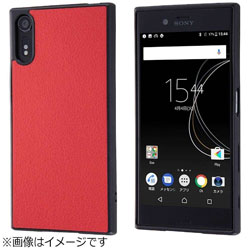 Xperia XZs / Xperia XZ用 オープンレザーケース スマート レッド RT-RXZSLC12/R