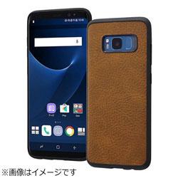 Galaxy S8用 オープンレザーケース スマート ダークブラウン RT-GS8LC12/DK