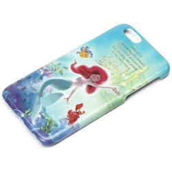 iPhone 6s/6用 ハードケース ムービーコレクション ディズニー・アリエル PG-DCS934ARL