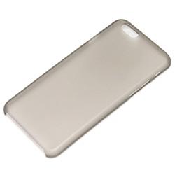 iPhone 6 (4.7インチ)用 ポリカーケース クリア ブラック PGI6SL01BK