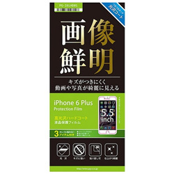 iPhone 6 Plus用 液晶保護フィルム 光沢 PG-I6LHD01