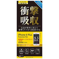 iPhone 6 Plus用 液晶保護フィルム 衝撃吸収光沢 PG-I6LSF01
