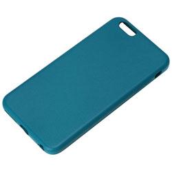 iPhone 6 Plus用 PUレザーケース ブルー PG-I6LPU03BL