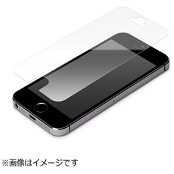 iPhone SE(第1世代)4インチ/ 5c / 5s / 5用 液晶保護フィルム ブルーライト 光沢 PG-I5EBL01