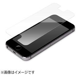 iPhone SE用 液晶保護フィルム 衝撃吸収 光沢 PG-I5ESF01