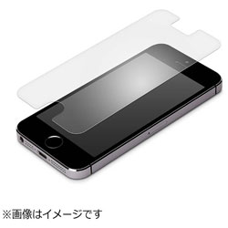 iPhone SE用 液晶保護フィルム 衝撃吸収 AG PG-I5ESF02