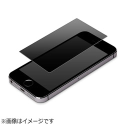 iPhone SE(第1世代)4インチ/ 5c / 5s / 5用 液晶保護フィルム 覗き見防止 PG-I5EMB01