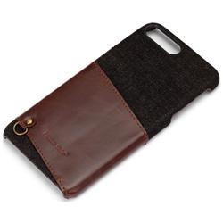 iPhone 7 Plus用 カードポケット付き ハードケース ブラック PG-16LCA04BK