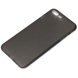 iPhone 7 Plus用 ポリプロピレン スーパースリムケース クリアブラック PG-16LSL02BK