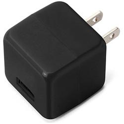 スマホ用USB充電コンセントアダプタ 2.1A ブラック PG-UAC21A01BK [1ポート]