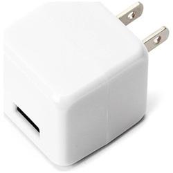 スマホ用USB充電コンセントアダプタ 2.1A ホワイト PG-UAC21A02WH [1ポート]