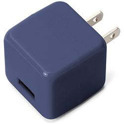 スマホ用USB充電コンセントアダプタ 2.1A ブルー PG-UAC21A05BL [1ポート]