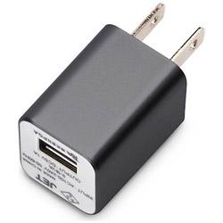 WALKMAN/Smartphone用 USB電源アダプタ (ブラック) PG-WAC10A01BK