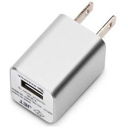 WALKMAN/Smartphone用 USB電源アダプタ (シルバー) PG-WAC10A02SV