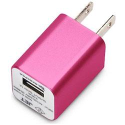 WALKMAN/Smartphone用 USB電源アダプタ (ローズピンク) PG-WAC10A03PK