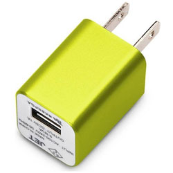 WALKMAN/Smartphone用 USB電源アダプタ (イエロー) PG-WAC10A05YE