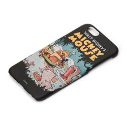iPhone 6s/6用 ハードケース ラバーコート ディズニー・ミッキーマウス PG-DCS021