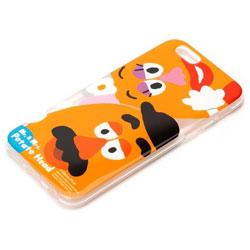 iPhone 6s/6用 TPUソフトケース ディズニー・Mr.&Mrs. ポテトヘッド PG-DCS040