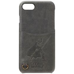 iPhone 7用 STARWARS ハードケース ポケット付き ダース・ベイダー PG-DCS154DV