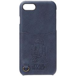iPhone 7用 STARWARS ハードケース ポケット付き R2-D2 PG-DCS155R2