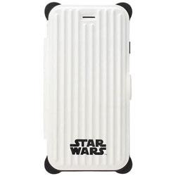 iPhone 7用 STAR WARS タフフリップカバー ロゴ PG-DFP251SW