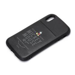 iPhone X用 ディズニー タフポケットケース ミッキーマウス・ブラック PG-DCS301MKY