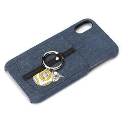 iPhoneX用 ハードケース ポケット&リング付き BB-8 PGDCS362BB