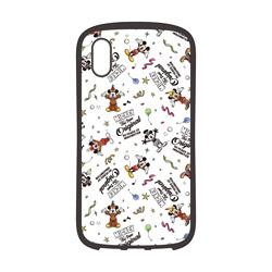 iPhone XS Max 6.5インチ用 ハイブリッドタフケース Premium Style ミッキーマウス ホワイト PG-DCS518M9W