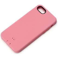 iPhone 7用 シリコンソフトケース ピンク PG-16MSC03PK