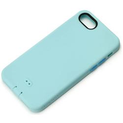 iPhone 7用 シリコンソフトケース ブルー PG-16MSC04BL