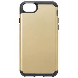 iPhone 7 / 6s / 6用 ハイブリッドタフケース ゴールド PG-16MPT09GD