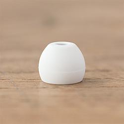 イヤピース Eタイプ Mサイズ 6個 FI-EPEWHM4 White