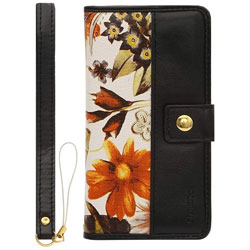 iPhone 6s/6用 デザインケース BOOK Fabric プランター A LP-I6SLBDPTA