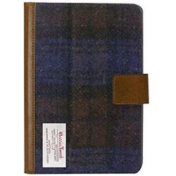iPad mini 4用 薄型ファブリックケース Harris Tweed A ブラック LEPLUS LP-IPM4HTA