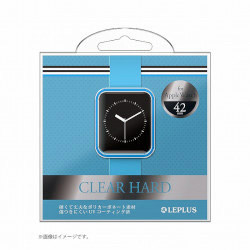 Apple Watch 42mm ハードケース LP-AW42HGCBL クリアブルー