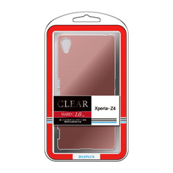Xperia Z4 ハードケース 「CLEAR HARD」 クリアカッパー LPXPZ4HGCRD