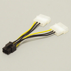 PX-001B (PCI Express用電源変換ケーブル)