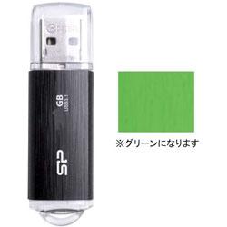 SPJ032GU3B02G USBメモリ Blaze B02 グリーン [32GB /USB3.1 /USB TypeA /キャップ式]