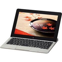 11.6型ワイド LAVIE Hybrid Standard[Office付き・Win10] PC-HS350CAS(2015年最新モデル・スパークリングシルバー)